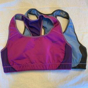 2 Nike sports bras